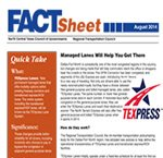 TEXpress Lanes Fact Sheet