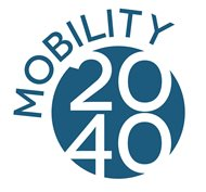 The logo for Mobility 2040
