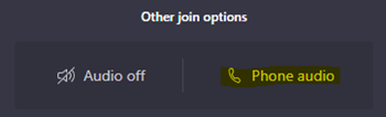 Other Join Options