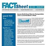 Access North Texas Fact Sheet Cover