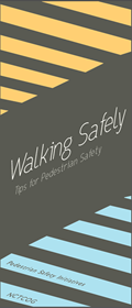 Tips for Walking and crossing safely along roadways