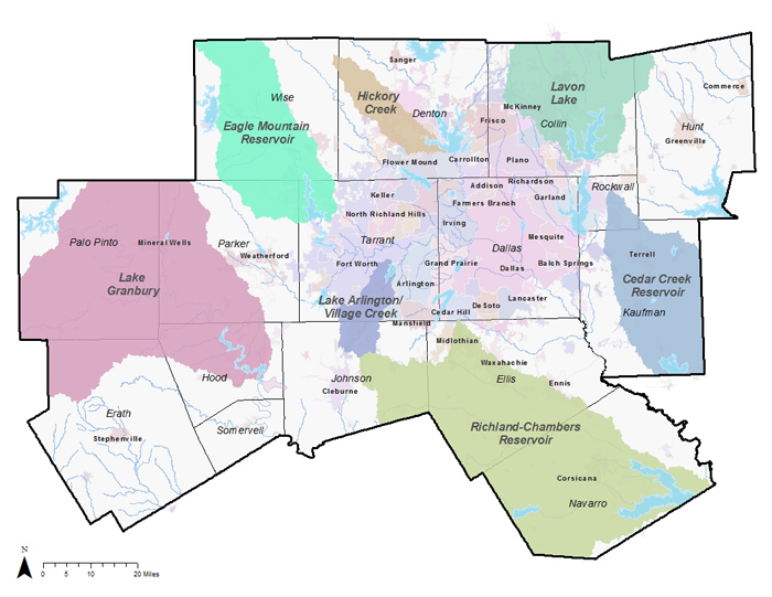 Map of Watershed Protection Plans