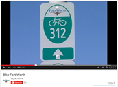 Video by City of Fort Worth on bike safety.