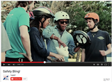 Award winning video promoting bicycle helmets and lights.